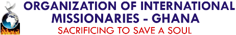 Organization of International Missionaries (OIM Ghana) Logo